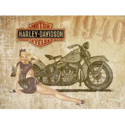 Harley pinup 1940