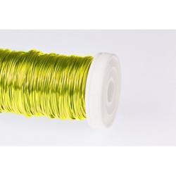 Dekordrót sima 0,3 mm sárga 25 gr