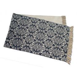 Elvira szőnyeg bézs-kék 50x150