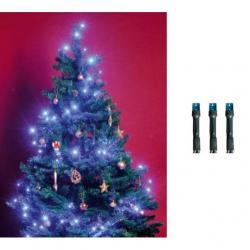 LED-es beltéri fényfüzér, kék, 50 LED beltéri