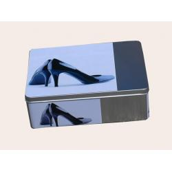 Fém tároló rendező doboz XL vegyes minta D - női cipők