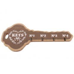 Keys fali kulcstartó M barna