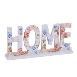 Home Dekor floral türkiz/kékes
