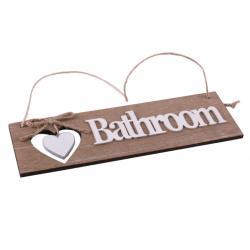 Ajtótábla Bathroom barnás
