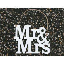 Ajtótábla Mr&Mrs XL