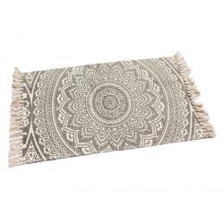 Nyomott mintás szőnyeg 50x80 bézs