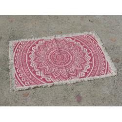 Nyomott mintás szőnyeg 50*80 pinkes