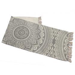 Nyomott mintás szőnyeg 50x150 bézs