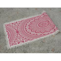 Nyomott mintás szőnyeg 50*150 pinkes