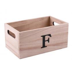 Natúr doboz betűvel