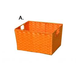 Színes fiók fém füllel XL (A) narancs