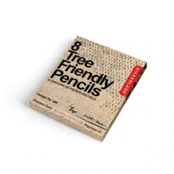 Ceruza újrahasznosított papírból