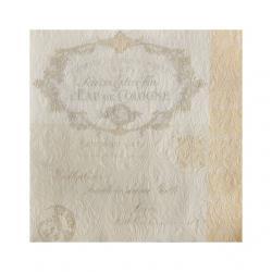Papír Szalvéta 3 rétegû - Fiorentina krém 33x33cm krém S/16