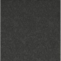 Papír Szalvéta 3 rétegû - Fiorentina uni fekete 33x33cm fényes fekete S/20