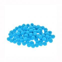 Zsenilia golyó mûszál 1,5cm kék S/100