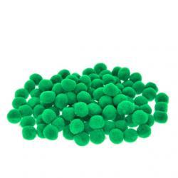 Zsenilia golyó mûszál 2cm sötét zöld S/100