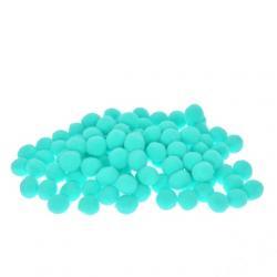 Zsenilia golyó mûszál 2cm világos kék S/100