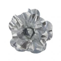 Selyemvirág rózsa textil 30 cm arany