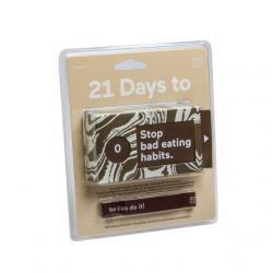 21 napos kihívás, Szakíts a rossz étkezési szokásokkal! angol nyelvû
