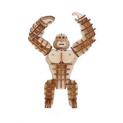 3D fa puzzle, gorilla