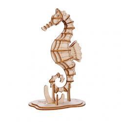 3D fa puzzle, tengericsikó