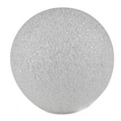 EVA gömb dekoráció 2 LED 20cm melegfehér