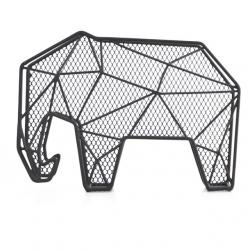 Falra szerelhető levél és kulcstartó, elefánt