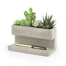 Nagy méretû design beton kaspó és tolltartó