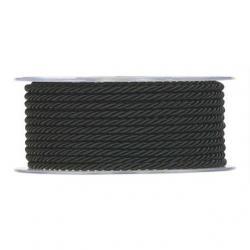 Zsinór 2,5mmx30m fekete