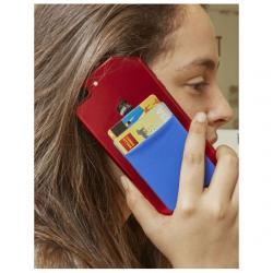 Irattartó zseb telefonhoz, RFID blokkolással, többszínû