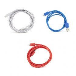 Töltő kábel, extra hosszú, micro USB