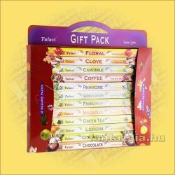 Tulasi  Füstölő  ajándékcsomag    Tulasi  Square  Gift  Pack
