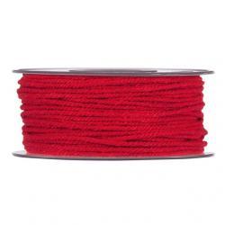 zsinór fonott 3mmx50m piros