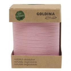 Kötöző szalag lebomló 5mmx200m rózsaszín