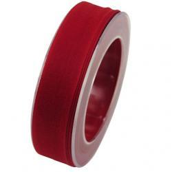 Szalag textil 25mmx20m piros