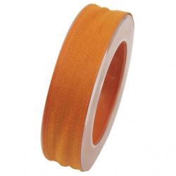 Szalag textil 25mmx20m narancs