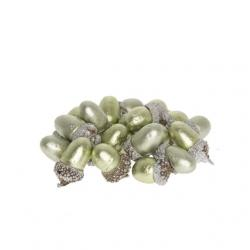 Makk hungarocell 3 cm metálvilágos zöld S/36