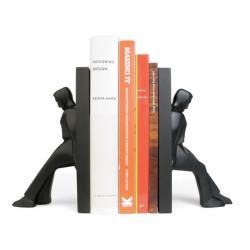 Könyvtámasz,támaszkodó ember