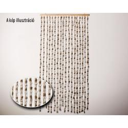 Térelválasztó függöny drapp
