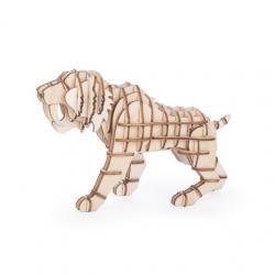 3D fa puzzle, tigris