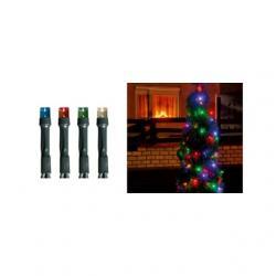LED-es fényfüzér, 100LED, 8pr., színes, kültéri kültéri